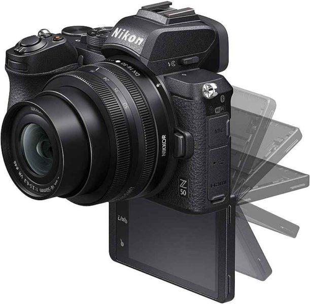 Pantalla de la Nikon Z50